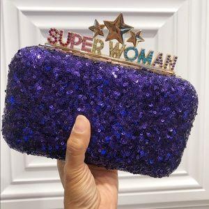 ALDO SUPER WOMAN CLUTCH